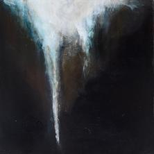 Eiszapfen im Dunkeln - icicle in the darkness